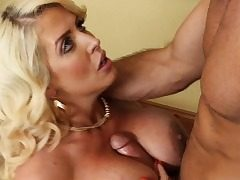 Enormous Boobs Ash-blonde Daddy Teacher Fuck Alura 'TNT' Jenson