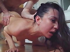 Stepsis Ariel got a rough and cruel fucking