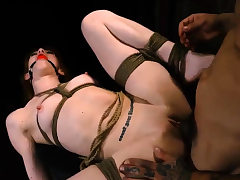 3 s predominate dame and foot humiliation He chains up