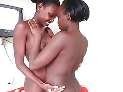 Real African Amateur Lezzy Teenagers