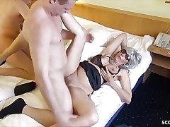 2 German Prostitute called by Guys and Fucked NO Love glove