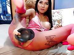 Cam japanese girl phat toys anal and squirt