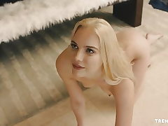 Cool Kenna James screwed hard against a wall - TRENCHCOATx