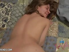Silver-Light-Haired girl, Riley Star is sucking her greatest acquaintance's cock and expecting a facial cumshot pop-shot money-shot